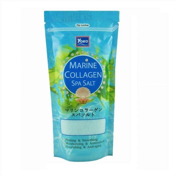 ملح الحليب يوكو سبا بخلاصة الكولاجين عبوة 300 جرام